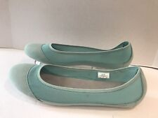 c5f7a59c772 Patagonia Vert Sarcelle Daim et Maille Valet Chaussures Plates Size 11 US