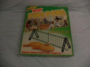 Vtg Nerf Ball Ping Pong Game 1982 No. 0273