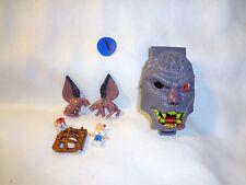 Mighty Max Horror Heads Werewolf 100% Complete Set Playset Bluebird Toys