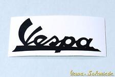 """Dekor Aufkleber """"Vespa-Schriftzug"""" - Schwarz - GL GT TS Sprint Rally GS Sticker"""