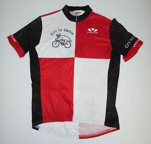 VOLER 3/4 Zip Cycling Jersey CITY TO GROVE Color Block OWL Bike USA Mens LG