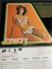 Schlitz Primo Hawaii Beer 1976 Pin Up Calendar Sign Mid Century Modern 12 Pages