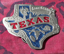 TEXAS STATE SHAPE BELT BUCKLE NEW