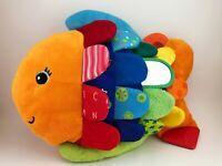 MELISSA & DOUG K's Kids Plush FLIP FISH Baby Sensory Learning Educational Toy
