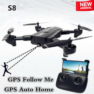 S8 GPS with camera HD 1080P Professional FPV Wifi RC Drone
