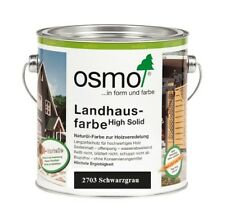 Osmo Landhausfarbe HS 2703 Schwarzgrau 2,5 L