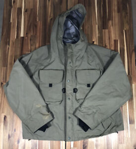 Orvis Tailwaters XT Wading Jacket In Sage Sz. XL Fly Fishing