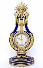 V&A MARIE-ANTOINETTE BELL-STRIKING MANTEL CLOCK BY FRANKLIN MINT, WORKING WELL