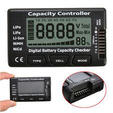 LCD Digital Battery Capacity Checker Controller for Lipo Li-ion NiMH #US STOCK