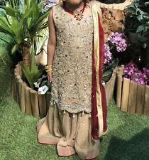 Pakistani Indian Bridal Dress Lengha Heavy Embroidered Kameez Wedding Girls Z