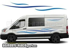Ford Transit Motorhome Campervan 008 graphics stickers decals vinyl LWB
