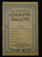1910-06 June National Geographic PEARY BC Canada GLACIERS Finland COSTA RICA+Ads