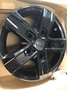 Suzuki Jimny MAK Alloy Wheels 6J15 In Gloss Black PCD 5X139.7 ETO New Old Stock