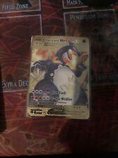 Carte Pokemon Metal Gold Dracaufeu/charizad Vmax Shiny Fan Made