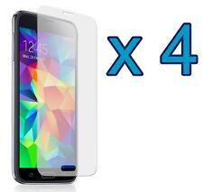 4 x Samsung Galaxy S5 Mini SM-G800 Crystal Clear Screen Protector Guard