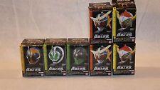 Bandai Masked Kamen Rider Head Collection World - Complete Set of 7 W/2 SP Ver.