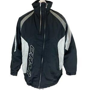 Lotto Italian Sport Black & White 100% Polyester Ski Jacket Age 15-16yrs EXC CON