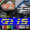 2 Adesivi Fianco Serbatoio Moto BMW R 1200 gs adventure LC GS big 2016