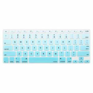Silicone Keyboard Skin Cover for Macbook Air Pro 13 15 Retina Release 2012-2017