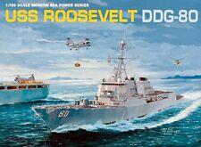 Dragon 7039 U.S.S. Roosevelt DDG-80 1/700 scale plastic model kit