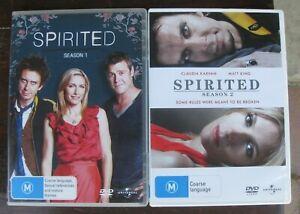 Spirited - Complete Series 1-2 DVD (5 discs) Set Collection - VGC+