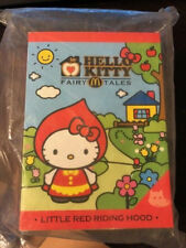 HELLO KITTY Fairy Tales RED RIDING HOOD Toy McDonalds Hong Kong 2012