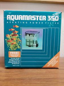 Aquamaster Aquarium Power Filter -Supreme 350-  For Tanks up to 70 gallon