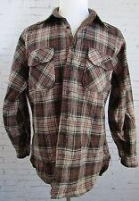 Vintage Men's Pendleton Wool Lumberjack Hunting Shirt Plaid Large Made in USA