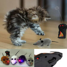 Remote Control Rat Mouse Wireless Cat Dog Pet  Electric Toy Novelty Gift Traning