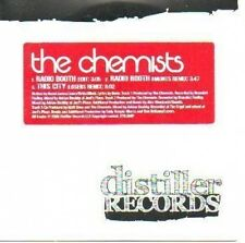 (88A) The Chemists, Radio Booth / This City - DJ CD