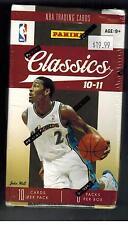 2010-11 Panini Classics Basketball Blaster Box  GEORGE WALL LYNN STEPHENSON AUTO