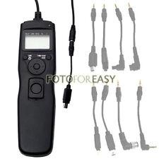 Timer Remote Shutter Cord for Nikon D750 D7000 D5000 D3100 D3200 D3300 D600 D90