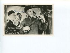 Ching Wah Lee Flower Drum Song The Good Earth Signed Autograph Photo