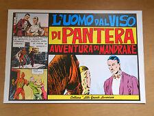724D - L'UOMO DAL VISO DI PANTERA MANDRAKE AVVENTURE - RISTAMPA -