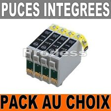 *Lot Cartouche d'encre compatible epson non-oem TO711 TO712 TO713 TO714 TO715