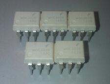 MOC3020M OPTOISOLATOR 5.3KV TRIAC 6DIP Pack of 5