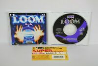 PC-Engine SCD LOOM with SPINE * PCE Grafx Japan Game pe