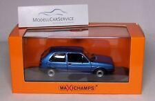Minichamps 1/43: 940054120 VW Golf II GTI (1985), blaumetallic - MAXICHAMPS