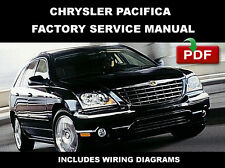 CHRYSLER PACIFICA 2004 2005 2006 2007 2008 SERVICE REPAIR WORKSHOP MANUAL