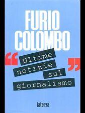COLOMBO - ULTIME NOTIZIE SUL GIORNALISMO - LATERZA