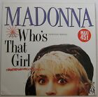 """MADONNA (MAXI 45T 12"""") Who's that girl EXTENDED VERSION GERMANY 1987"""