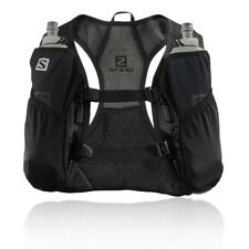 Salomon Mens Agile 2 Set Running Backpack Black Sports Breathable Reflective