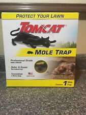 TOMCAT Mole Trap | Kills Quickly |Reusable | Easy Hands Free | Used In Box