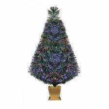 Holiday Time 32 inch Fiber Optic Christmas Tree - Green
