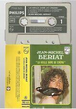 JEAN MICHEL BERIAT cassette K7 tape LA VIEILLE DAME DE CINEMA 7102 521