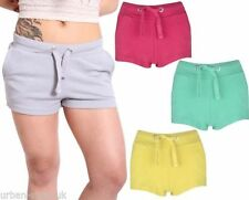 Patternless Hot Pants Low Rise Shorts for Women