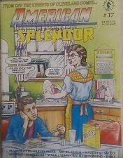 AMERICAN SPLENDOR #17 FN  Original Magazine Format, Harvey Pekar, 1993