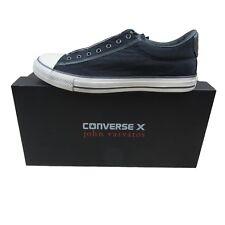 Converse X John Varvatos Vintage Slip On Ox Size 10 Mens Black Beluga 153903C