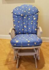 NURSERY DUTALIER GLIDER/ROCKER WITH CUSHIONS