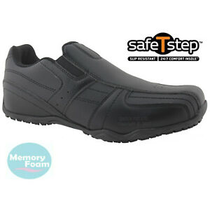 MENS CASUAL SHOES COMFORT SLIP ON MEMORY FOAM WALKING BOOTS WORK TRAINERS